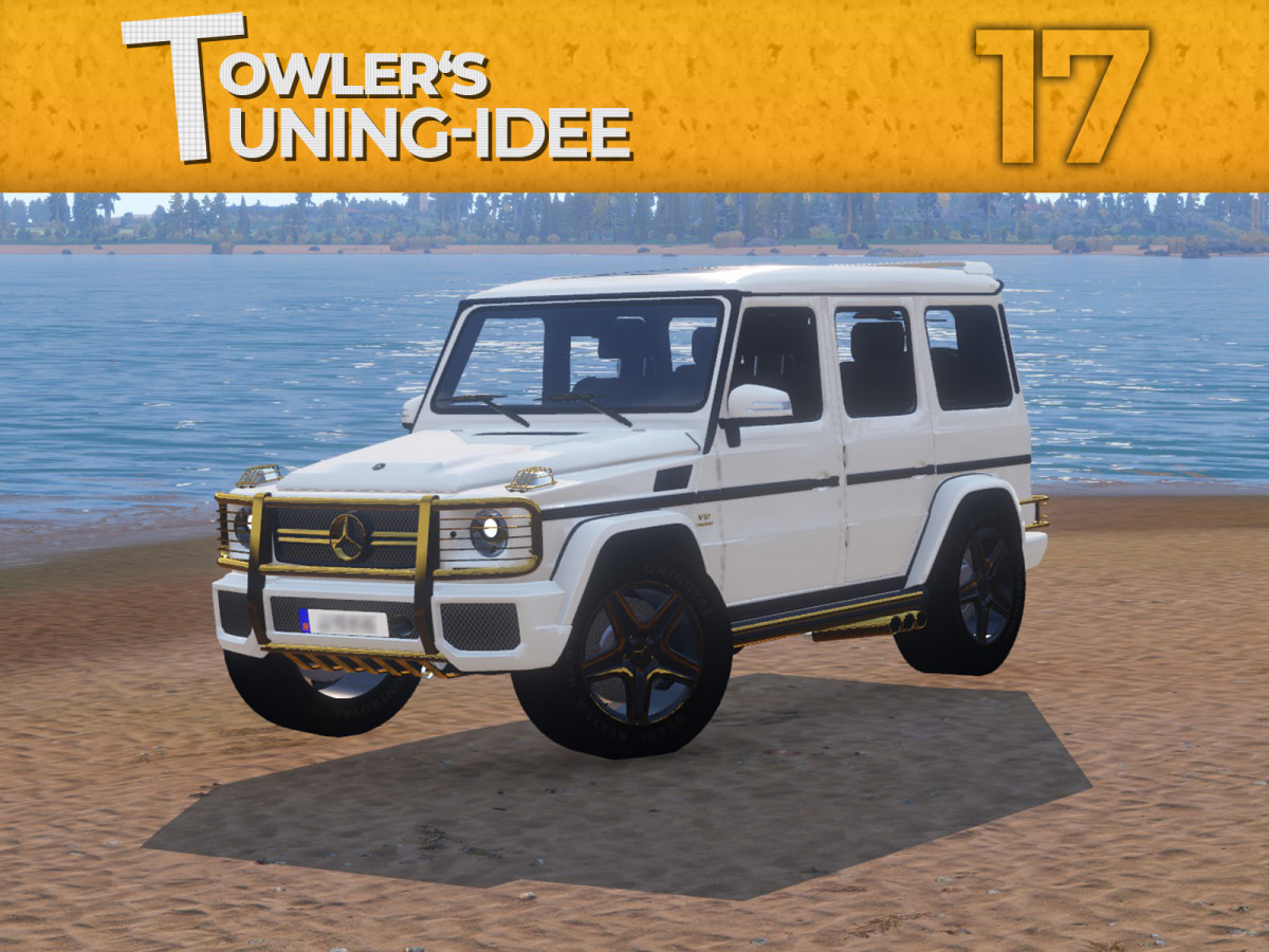⭐ Towler's Tuning Idee 17 ⭐ Mercedes-Benz G63
