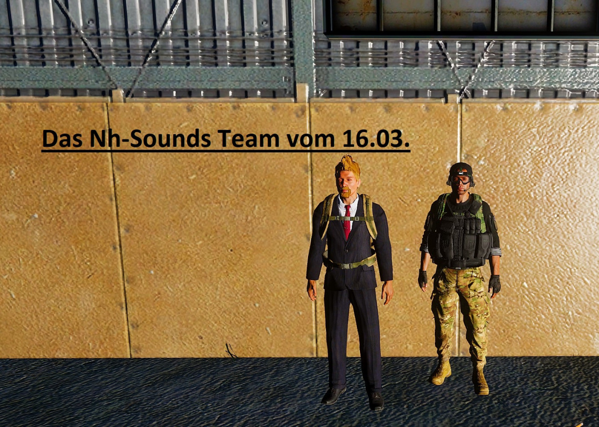 Unser Nh-Sounds Team vom 16.03.