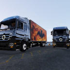 Der Neue MErcedes Actros in der 14 Tonner Version und in der 7 Tonner Version!