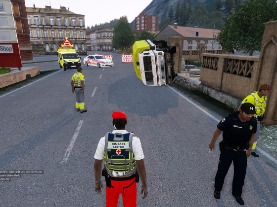LKW Unfall in Pomberg