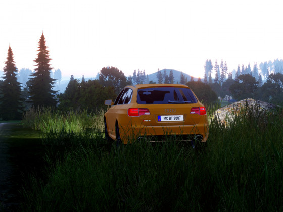 RS6 in the sunset...