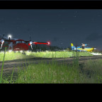 Yolandi Intl. Airport - Arrival - Parkpositions - Night