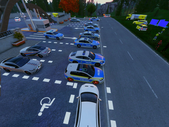 Impression aus dem Event Cops vs. Racer