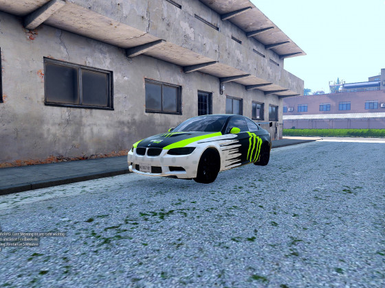 BMW M3 E92 - Momster